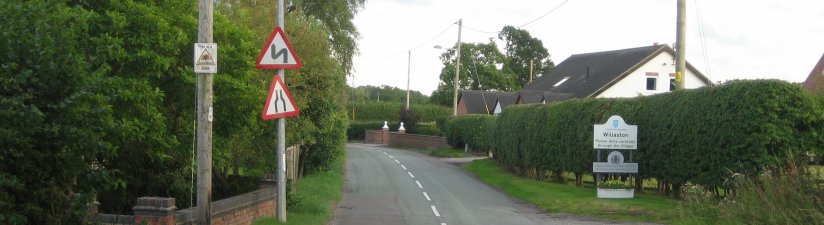 Approaching Willaston on Colleys Lane